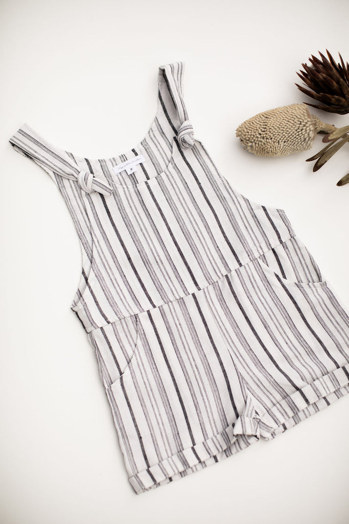 WILLOW OVERALL - STRIPE (UNISEX)
