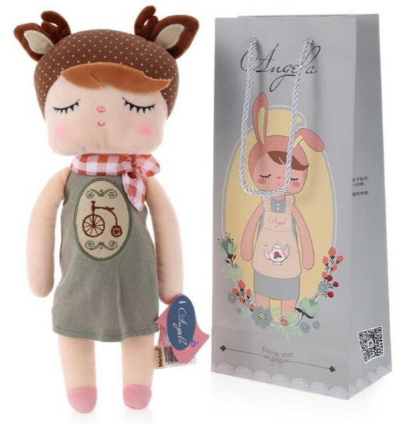 Stuffed Angela Doll