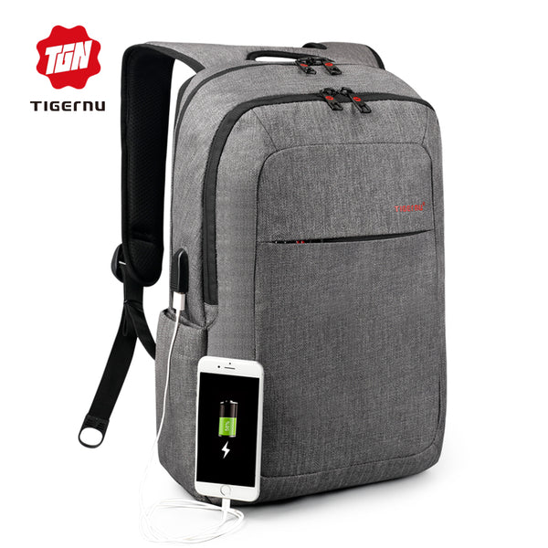 2017 Tigernu - USB Charge Backpack - back to school special!