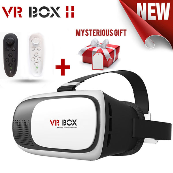 VR BOX 2 VR Glasses Leather + Bluetooth controller - mid range