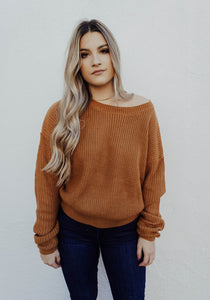 Addison Sweater - Camel