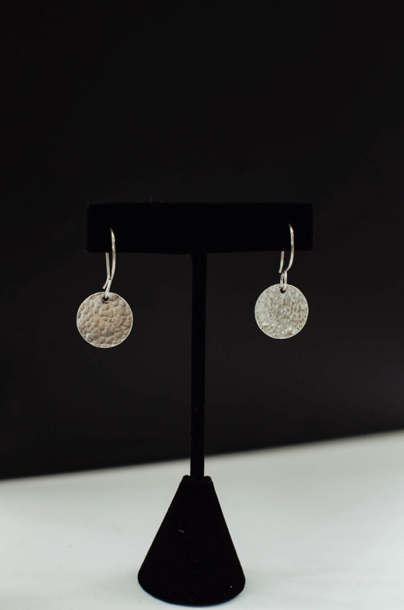 Sterling Silver Coin Earring - Medium
