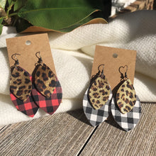 Leopard Buffalo Plaid