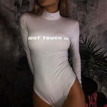 Hot Selling Reflective Alphabet Clothing Hot Selling Long Sleeve High Collar Printed Clothing