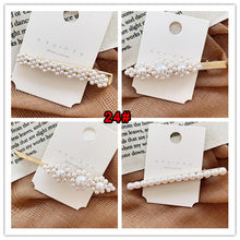Retro Girls Women Chic More Pearl Hair Clip Headwear Accessories