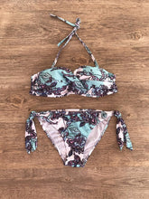 Hot sell fashion digital print with a low waist suit and sexy two-piece bikini