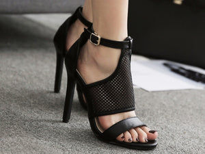 Fashion Women's Shoes New Type Open-toed Match Super High-heeled Sandals
