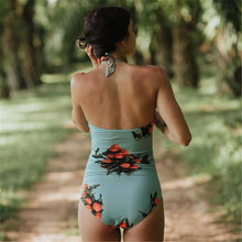 New Printed Triangle Swimwear European and American Fashion Women Swimwear