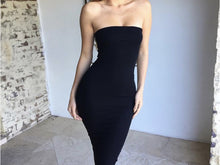 Fashion Women's Sexy Sleeveless Chest-wrapped Long Beach Dress