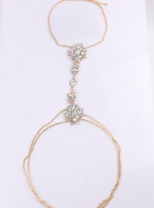 The big name exaggerates the jewelry simple and diamond fashion lady jewelry hot style flower body chain.