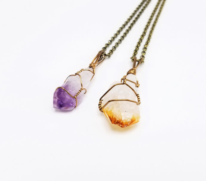 Amethyst x Citrine Combo Pack: Best Friends Set