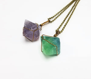 Amethyst x Fluorite x Citrine Combo Pack (Set of 3)