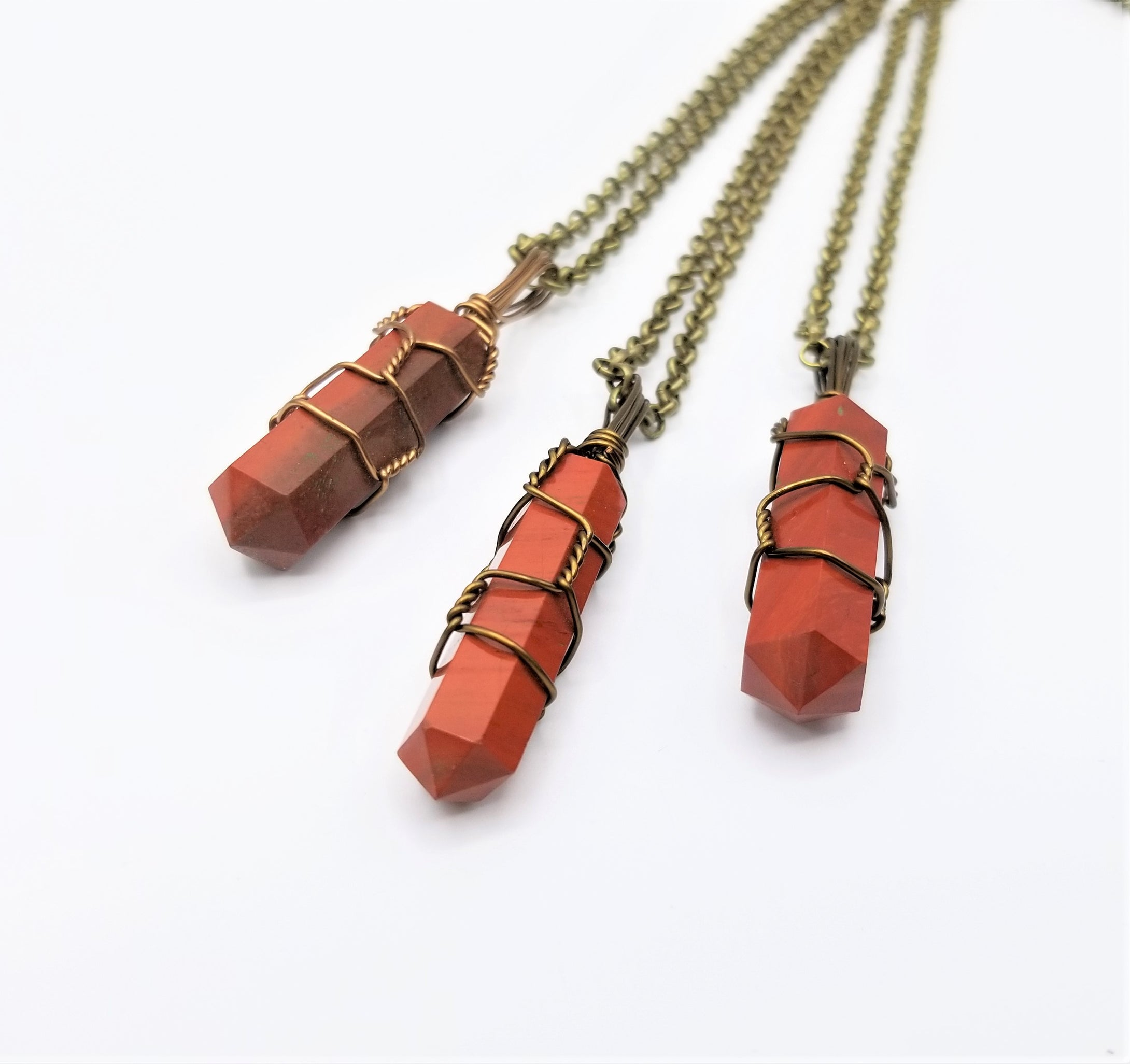 Red Jasper Necklace Pendant