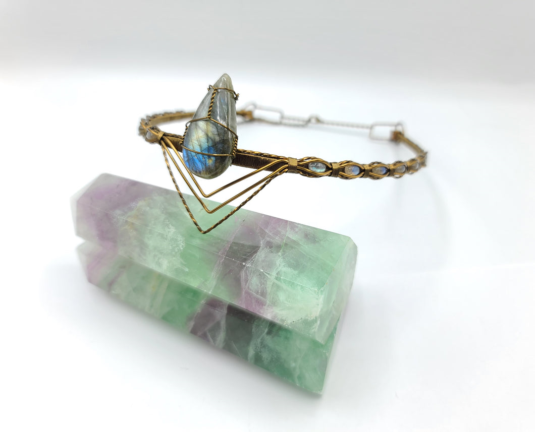 Labradorite Queen's Crown