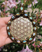 OPAL FLOWER OF LIFE (custom order)