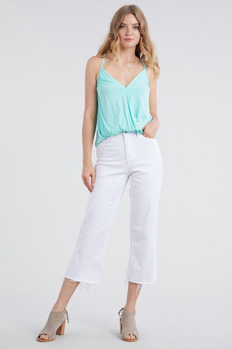 High Waisted White Jeans - Adventurista Boutique