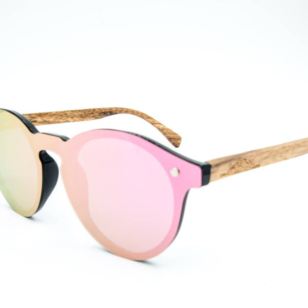 Rose Colored Sun Glasses by Shades - Adventurista Boutique