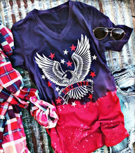 Americana Short Sleeve Shirt - Adventurista Boutique