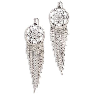 Dreamer Earring in Silver - Adventurista Boutique