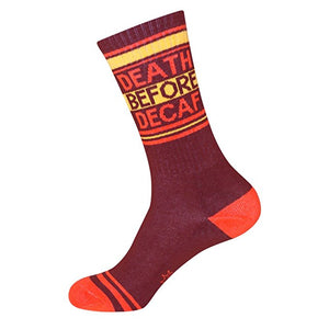 Death Before Decaf Socks - Adventurista Boutique