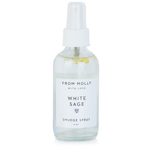 From Molly With Love - White Sage Smudge Spray 4 oz - Adventurista Boutique