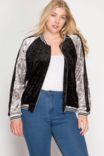 Velvet Bomber Jacket - Adventurista Boutique