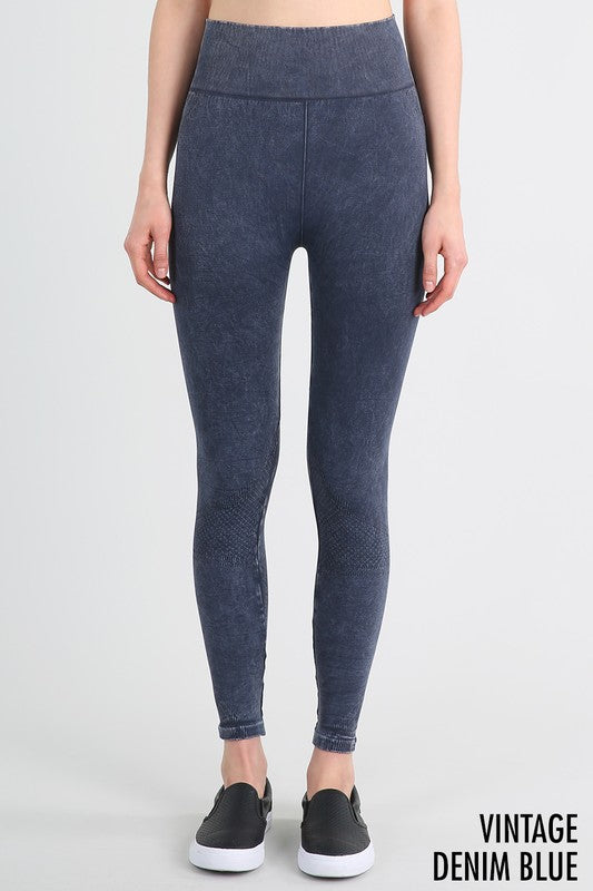 Denim seamless jeggings - Adventurista Boutique