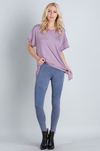Blue Moto Jeggings - Adventurista Boutique