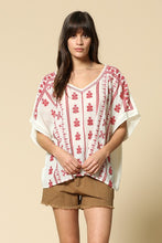 Take me Away Embroidery Top - Adventurista Boutique