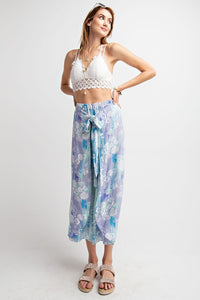 Endless Summer Wrap Cropped Pants - Adventurista Boutique
