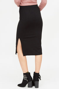 Black Pencil Skirt - Adventurista Boutique