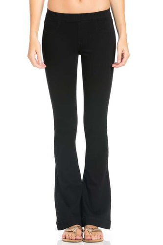 Black Wide-Leg Jeans - Adventurista Boutique