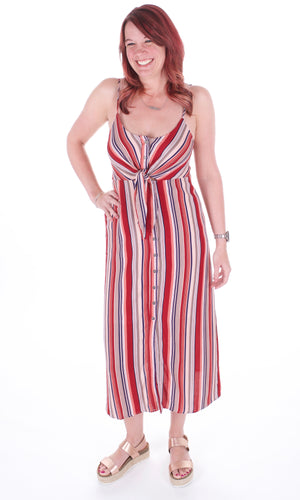 The Summer Stripe Dress - Adventurista Boutique
