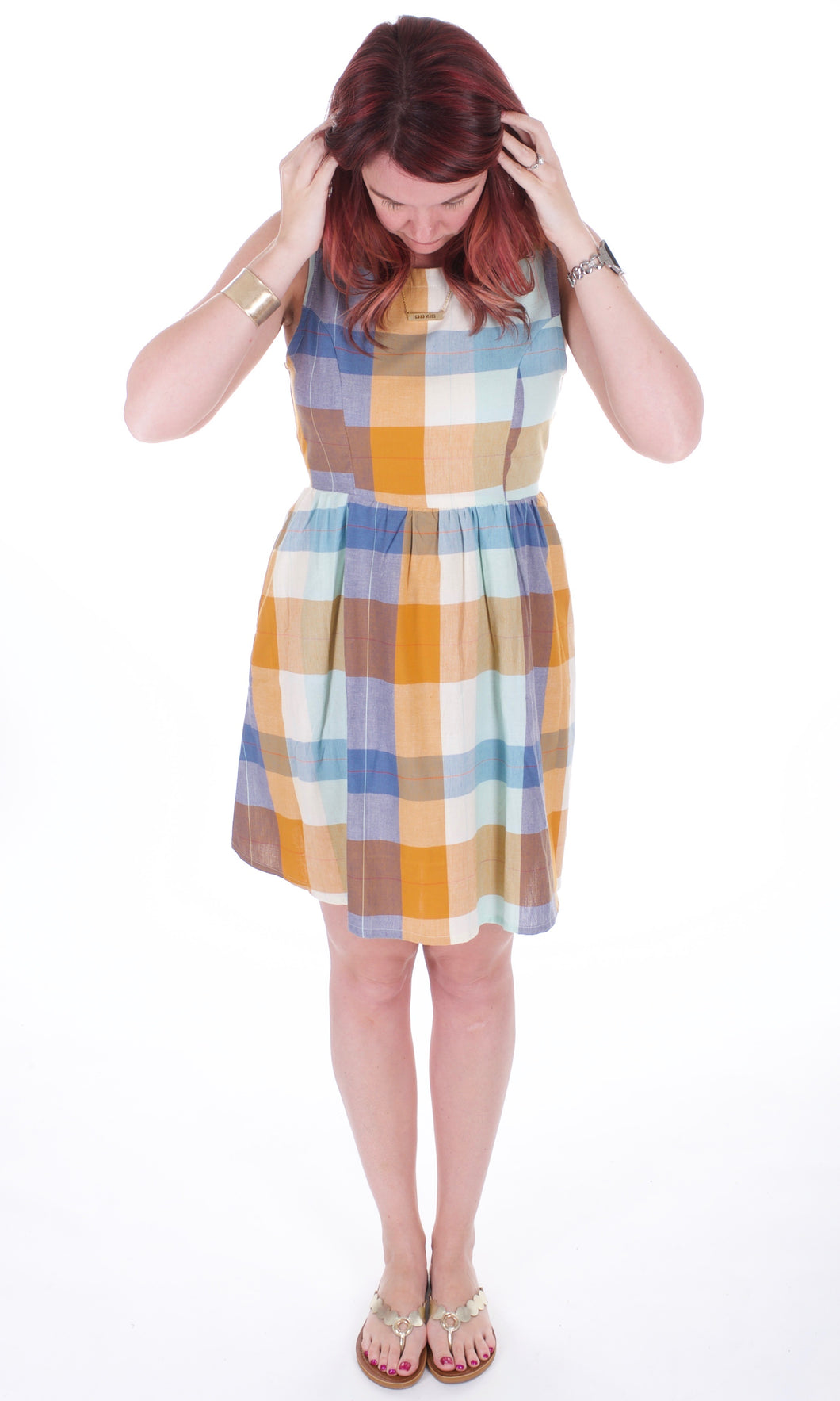 Dilly Dally Plaid Dress - Adventurista Boutique