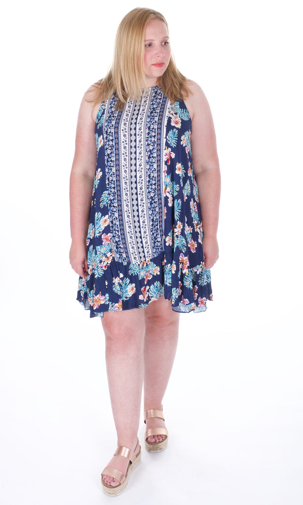 Floral Summer Sightseeing Dress - Adventurista Boutique