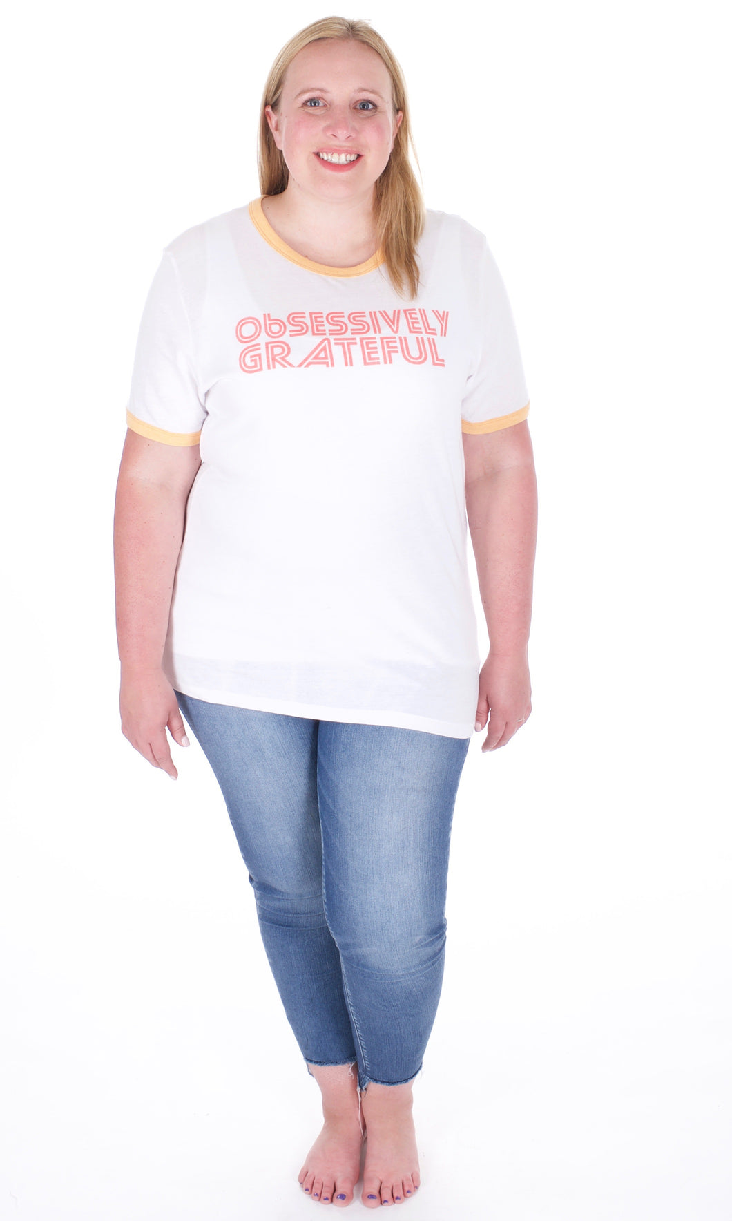 Obsessively Grateful Graphic Tee - Adventurista Boutique