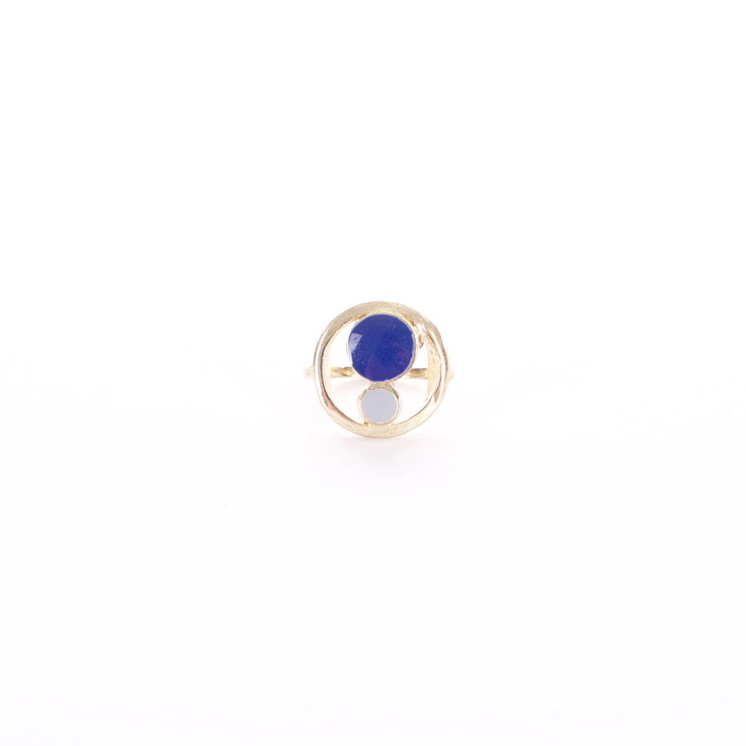 ORB RING NAVY - Adventurista Boutique