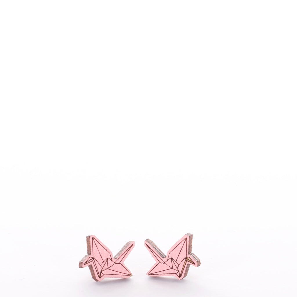 Origami Paper Crane Earrings - Adventurista Boutique