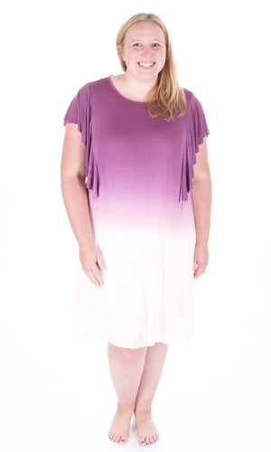 Purple Ombre Dress - Adventurista Boutique