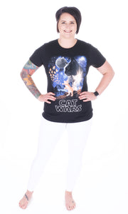 Cat Wars Tee - Adventurista Boutique