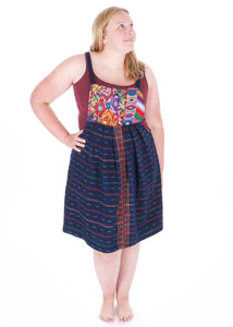 Huipil Jumper Dress - Adventurista Boutique