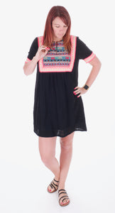 Embroidery Dress - Adventurista Boutique