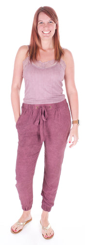 Purple Joggers - Adventurista Boutique