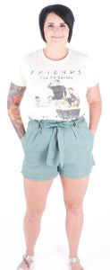 Sea Foam Green Shorts - Adventurista Boutique