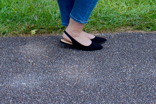 Black Ballet Flats - Adventurista Boutique