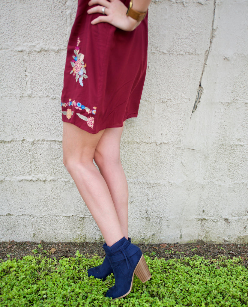 The Elisa Bootie - Adventurista Boutique