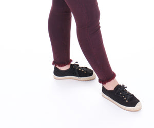 Krish Black Sneakers - Adventurista Boutique