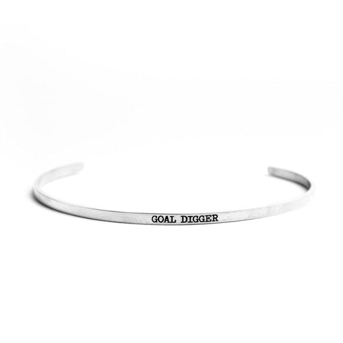 Goal Digger Bangle - Adventurista Boutique