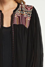 Embroidered Kimono Top - Adventurista Boutique