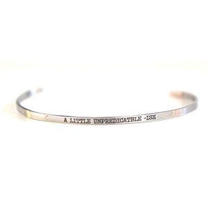 A LITTLE UNPREDICTABLE -ISH Bangle - Adventurista Boutique